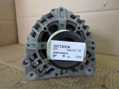 Alternatore Valeo 030903023J 14V 90A SG9B013 2542241C 30200769 Skoda  Octavia del 2003 1595cc.   da autodemolizione