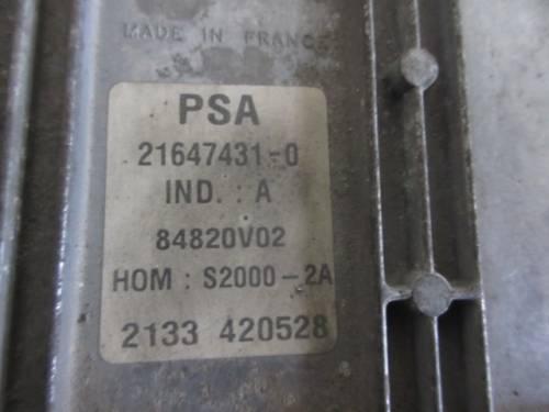 Centralina Motore  Sagem PSA 9646988680 9644625680-00 21647431-0 848 Peugeot  206 del 2002 1360cc.   da autodemolizione