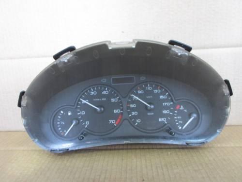 Quadro Strumenti 9645096180 6104HV 000640002 Peugeot  206 del 2002 1360cc.   da autodemolizione