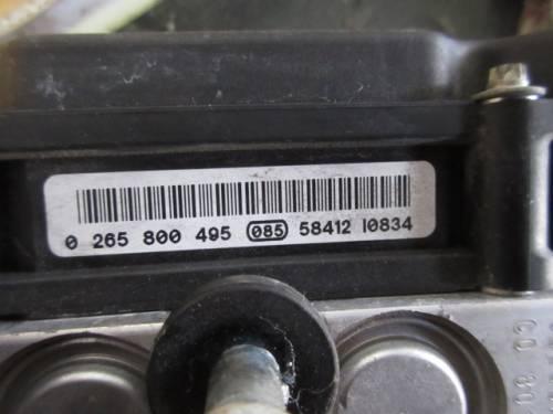 Centralina Abs Bosch 0265800495 0265231672 Lancia  Musa del 2005 1368cc. 16v  da autodemolizione