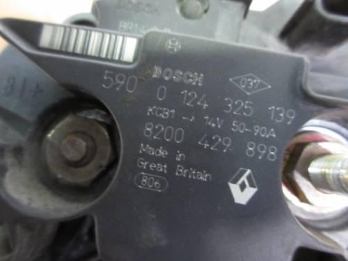 Alternatore Bosch 0124325139 8200429898 Renault  Modus del 2006 1149cc.   da autodemolizione