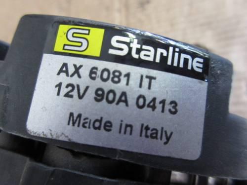 Alternatore Sterline AX6081IT 12V 90A 0413 Volkswagen  Golf 4 del 1999 1600cc.   da autodemolizione
