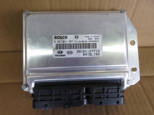 Centralina Motore Bosch 0281011807 39101-27715 84TBLI02 1039S06012 Hyundai  Getz del 2004 1493cc. CRDI  da autodemolizione