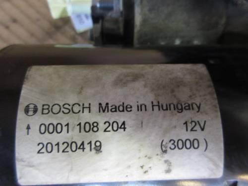 Motorino Avviamento Bosch 0001108204 20120419 14V  Fiat  Strada del 2002 1910cc. D  da autodemolizione