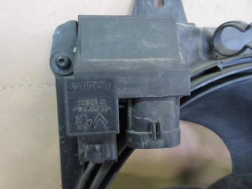 Ventola Radiatore OMRON 9662872380 00 34F30100200 Gate 8240503 Citroen  C3 del 2007 1400cc. HDI  da autodemolizione