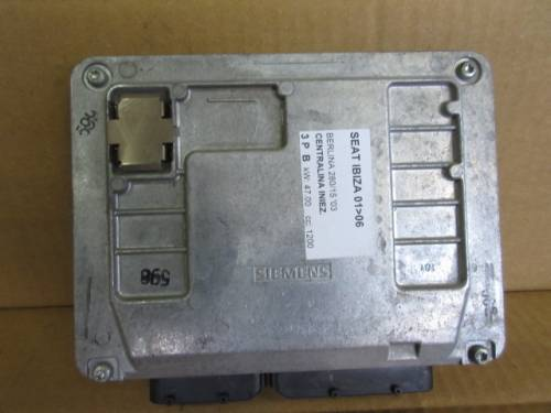 Centralina Motore Siemens 5WP4019607 03E906033P Seat  Ibiza del 2003 1200cc.   da autodemolizione