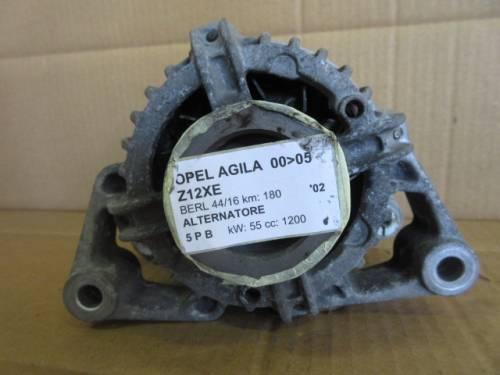 Alternatore Bosch 0124225018 24437119 70A Opel  Agila del 2002 1200cc.   da autodemolizione