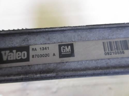 Radiatore Acqua Valeo RA 1341 870302CA 09210556 Opel  Agila del 2002 1200cc.   da autodemolizione