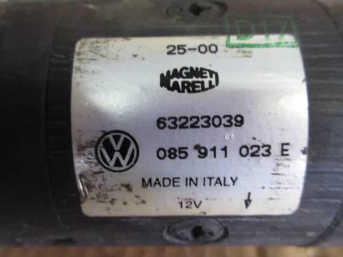 Motorino Avviamento Magneti Marelli 63223039 085911023 E 12V Seat  Arosa del 2000 999cc.   da autodemolizione