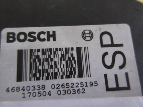 Centralina Abs Bosch 0265950087 484296 46840338 0265225195 170504 Alfa Romeo  166 del 2004 2387cc. JTD  da autodemolizione