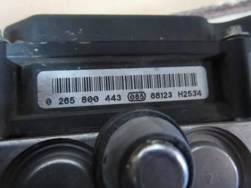 Centralina Abs Bosch 265800443 68123 H2534 0265231583 1382319 468 Opel  Corsa C del 2006 1248cc. CDTI  da autodemolizione