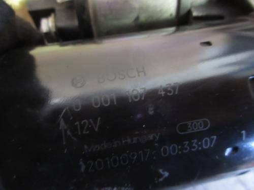 Motorino Avviamento Bosch 0001107437 Opel  Corsa C del 2006 1248cc. CDTI  da autodemolizione