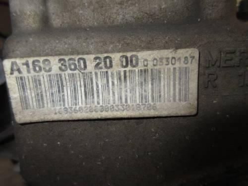 Cambio A1683602000 R1683610402  Mercedes-Benz  A 160 del 2000 1600cc.   da autodemolizione