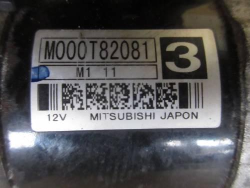 Motorino Avviamento Mitsubishi M000T82081 M111 12V Peugeot  307 del 2004 1997cc. HDI  da autodemolizione