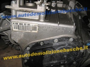 Cambio Mercedes-Benz  A 160 del 2000 1600cc.   da autodemolizione