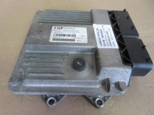 Centralina Motore Magenti Marelli 55195819 4N0S7ZN7E 7160000703 4G17 Da Lancia  Ypsilon del 2004 1248cc. MJET Usata da autodemolizione