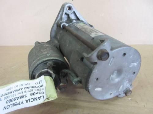Motorino Avviamento Valeo 46823548 12G41925RS 21960 C880 D6G1 1.3kw 12 Lancia  Ypsilon del 2004 1248cc. MJET  da autodemolizione