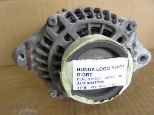 Alternatore Mitsubishi AHGA45 A5TA5591 0Y061 12V Honda  Logo del 2001 1343cc.   da autodemolizione