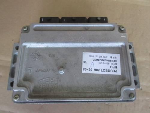 Centralina Motore  Magneti Marelli IAW 6LP203 5P8B3CLCF 35505 6LP2CE Da Peugeot  206 del 2006 1400cc. 16v Usata da autodemolizione