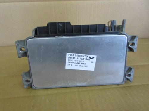 Centralina Motore Magneti Marelli SJKEVAD9 3449 IAW 16FMEC 600 46555 Fiat  Seicento del 2000 900cc.   da autodemolizione