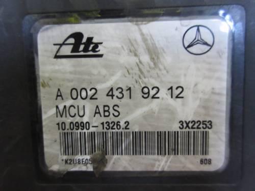 Centralina Abs  Ate 10099013262 A0024319212 3X2253 Ate 1002040162 Mercedes-Benz  C 180 del 1998 1799cc.   da autodemolizione