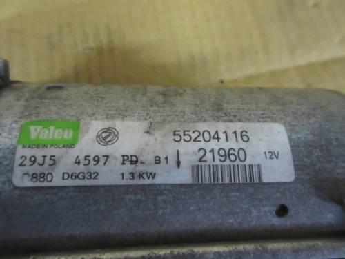 Motorino Avviamento Valeo 55204116 21960 29J54597 PD C880 D6G32 1.3kw  Fiat  Idea del 2005 1248cc. MJET  da autodemolizione