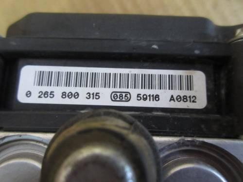 Centralina Abs Fiat  Punto del 2006 1242cc. 8v  da autodemolizione