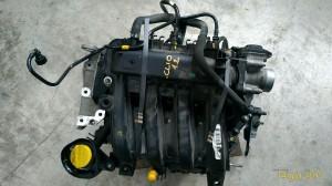 Motore D4FL7 Da Renault  Clio del 2010 1149cc. 1.2 16V Usato da autodemolizione