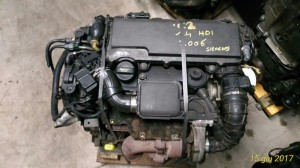 Motore 8HZ Da Citroen  C2 del 2006 1398cc. 1.4 HDI Usato da autodemolizione
