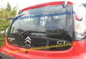 Portellone Citroen  C1  del 2009 da autodemolizione