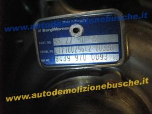 Turbina BorgWarner 55225012 LJ710029642 00338 54399700093 Fiat  Sedici del 2010 1956cc. Mtjet  da autodemolizione