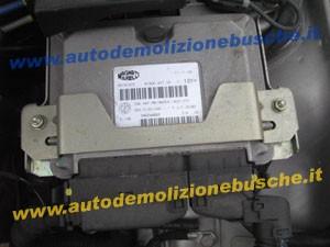 Centralina Motore MM IW 49F.M9 HW204 Fiat  600 del 2005 1108cc.   da autodemolizione