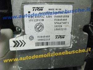 Centralina Abs TRW EBC430NG 51845405 Lancia  Ypsilon del 2011 1242cc.   da autodemolizione