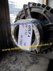Alternatore 037903025F 90A Volkswagen  Golf 4 del 1998 1400cc.   da autodemolizione