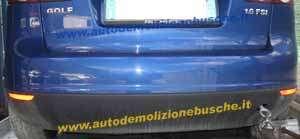 Paraurti Posteriore Volkswagen  Golf 5 PLUS del 2005 da autodemolizione
