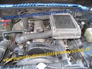 Intercooler Mitsubishi  Pajero del 1991 2477cc.   da autodemolizione