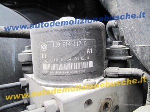 Centralina Abs ATE 1J0614117C Volkswagen  Golf 4 del 1999 1400cc.  16v  da autodemolizione