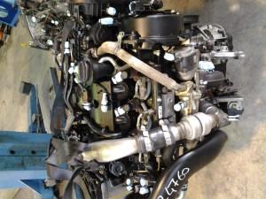 Motore UHZ Citroen  C6 del 2008 3cc.   da autodemolizione