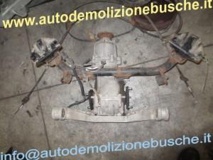 Differenziale Fiat  Sedici del 2007 1910cc. mtjet  da autodemolizione