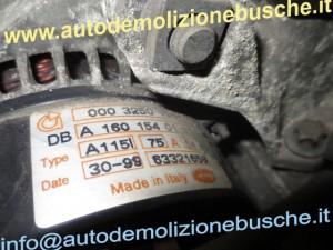 Alternatore A1601540101 Smart  Passion del 1999 600cc.   da autodemolizione
