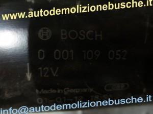 Motorino Avviamento BOSCH 0001109052 Opel  Zafira del 2001 1995cc. DTi  da autodemolizione