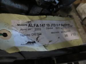 Motore 937A2000 Alfa Romeo  147 del 2003 1910cc. JTD LX  da autodemolizione
