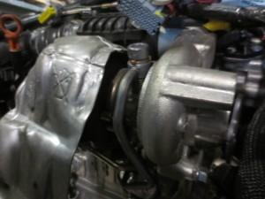 Turbina PSA FOMOCO TD02H2-07TVT-2  9673283680 13050100291  Peugeot  308 del 2013 1560cc.   da autodemolizione
