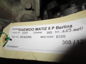 Cambio Daewoo  Matiz del 2005 995cc.   da autodemolizione
