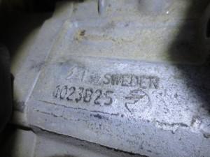 Cambio 21 SWEDWN 1023825 VOLVO 1023774 SWEDEN   Mitsubishi  Space Star del 2006 1870cc.   da autodemolizione