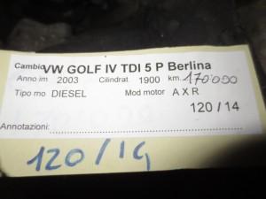 Cambio Volkswagen  Golf 4 del 2003 1900cc.   da autodemolizione