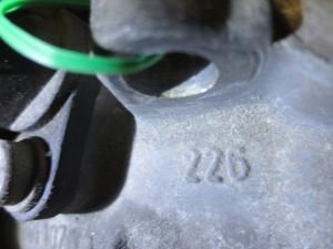 Cambio WV AG 226 8831 01 002 301 107 Skoda  Fabia del 2002 1400cc.   da autodemolizione