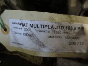 Cambio Fiat  Multipla del 2000 1910cc.   da autodemolizione