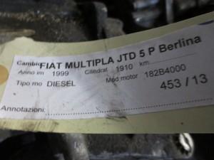 Cambio Fiat  Multipla del 1999 1910cc.   da autodemolizione