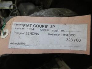Cambio Fiat  Coupe del 1995 1995cc.   da autodemolizione